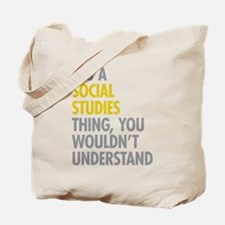 Social Studies Thing Tote Bag