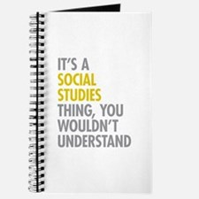 Social Studies Thing Journal