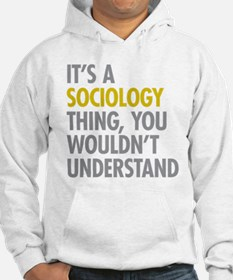 Its A Sociology Thing Hoodie