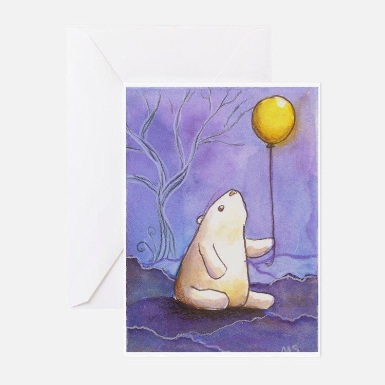 Cute Polar bear Greeting Cards (Pk of 20)