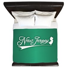 New Jersey State of Mine King Duvet