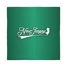 New Jersey State of Mine Queen Duvet