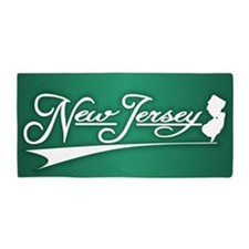 New Jersey State of Mine Beach Towel