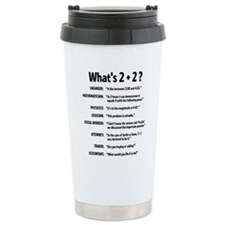 Unique Office workers Travel Mug