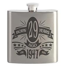 29th Birthday 1947 Flask
