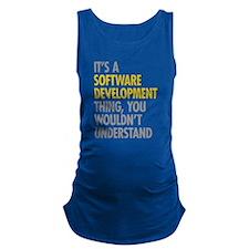 Software Development Thing Maternity Tank Top