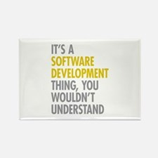 Software Development T Rectangle Magnet (100 pack)
