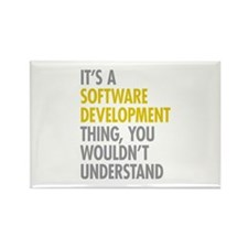 Software Development Thing Rectangle Magnet