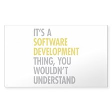 Software Development Thing Decal
