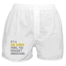 Soil Science Thing Boxer Shorts