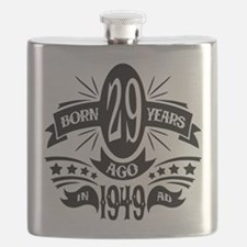 29th Birthday 1949 Flask