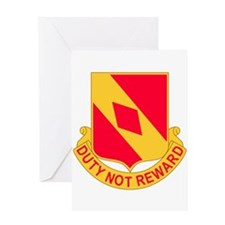 2d Battalion 20th Field Artillery R Greeting Cards