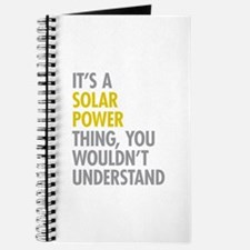 Its A Solar Power Thing Journal