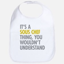 Its A Sous Chef Thing Bib