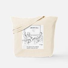 Bank Cartoon 1348 Tote Bag