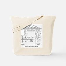 Computer Cartoon 1331 Tote Bag