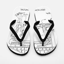 Computer Cartoon 1331 Flip Flops