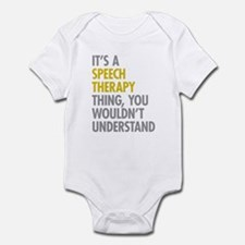 Its A Speech Therapy Thing Onesie