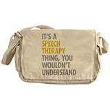 Speech therapy Messenger Bag