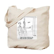 Restroom Cartoon 1306 Tote Bag