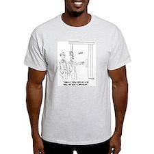 Restroom Cartoon 1306 T-Shirt