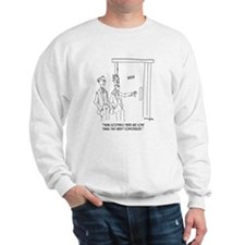 Restroom Cartoon 1306 Sweatshirt