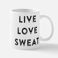 LIVE LOVE SWEAT Mugs