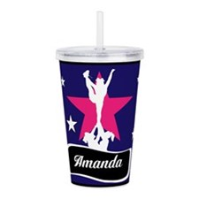 Allstar Cheerleader Acrylic Double-wall Tumbler