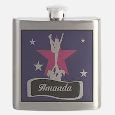 Allstar Cheerleader Flask