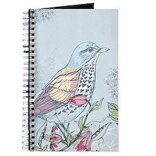Bird and Flowers Journal