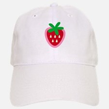 Strawberry Solitaire Baseball Baseball Cap