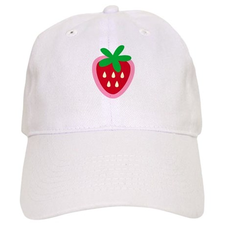 Strawberry Solitaire Cap
