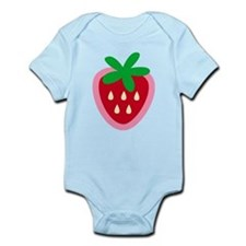 Strawberry Solitaire Infant Bodysuit