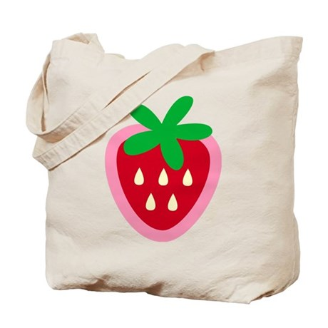 Strawberry Solitaire Tote Bag