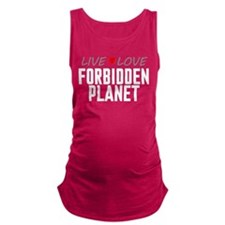 Live Love Forbidden Planet Maternity Tank Top