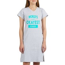 World's Okayest Runner Women's Nightshirt