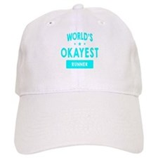 World's Okayest Runner Baseball Baseball Cap