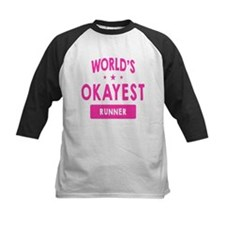 World's Okayest Runner Baseball Jersey