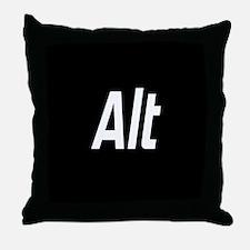 CTRL ALT DEL - BLACK Throw Pillow