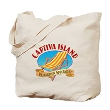 Captiva Island Relax - Tote Bag or Beach Bag