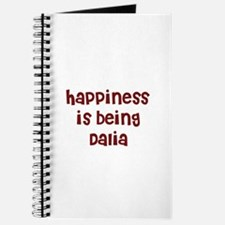 happiness is being Dalia Journal
