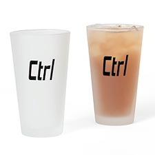CTRL----ALT----DEL Drinking Glass