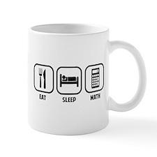 EAT, SLEEP, MATH Mugs
