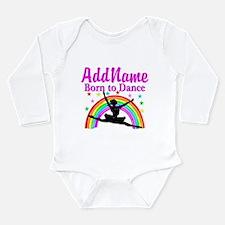 BORN DANCING Long Sleeve Infant Bodysuit