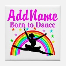 BORN DANCING Tile Coaster