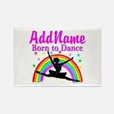 BORN DANCING Rectangle Magnet (10 pack)