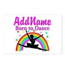 BORN DANCING Postcards (Package of 8)