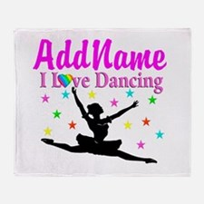 FOREVER DANCING Throw Blanket