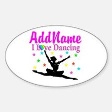 FOREVER DANCING Sticker (Oval)