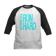 Run Hard Eat Bacon Baseball Jersey